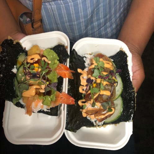 Norigami Tacos: Golden Tiger + Mr Krabs