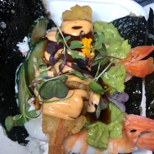 Norigami Tacos: Golden Tiger