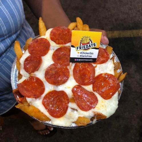 Just Friedays: Pepperoni Fries