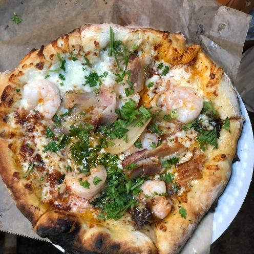 La Pizzeria Co: Shrimp & Bacon Pizza