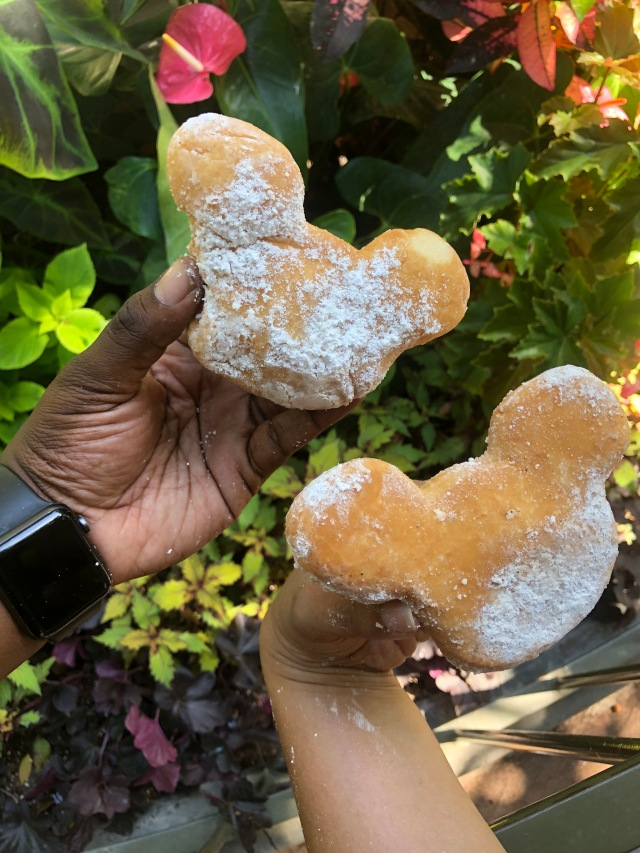 Mickey Beignets: Original and Pumpkin Spice
